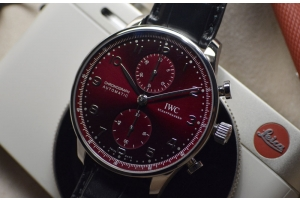 Crimson Dawn with IWC's new Portugieser