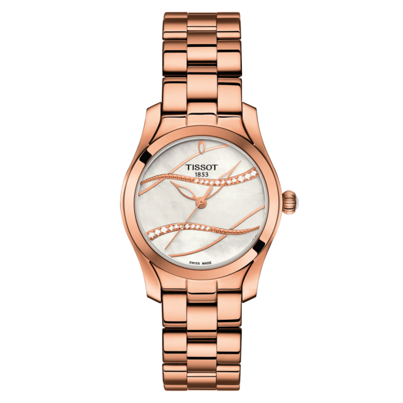 Tissot T-Wave Rose Gold