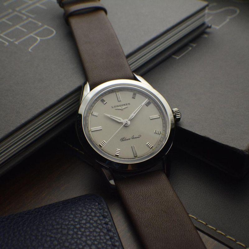 Longines Heritage Classic Silver Arrow