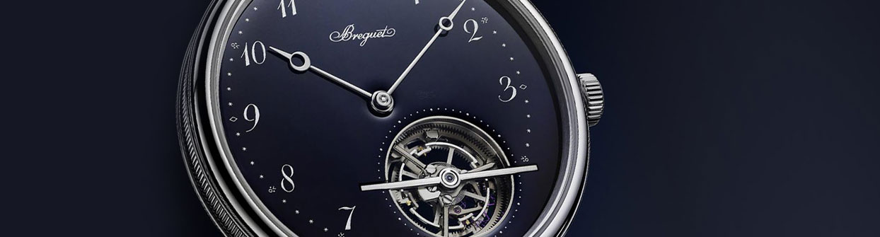 Picture of Blue breguet Automatic watch