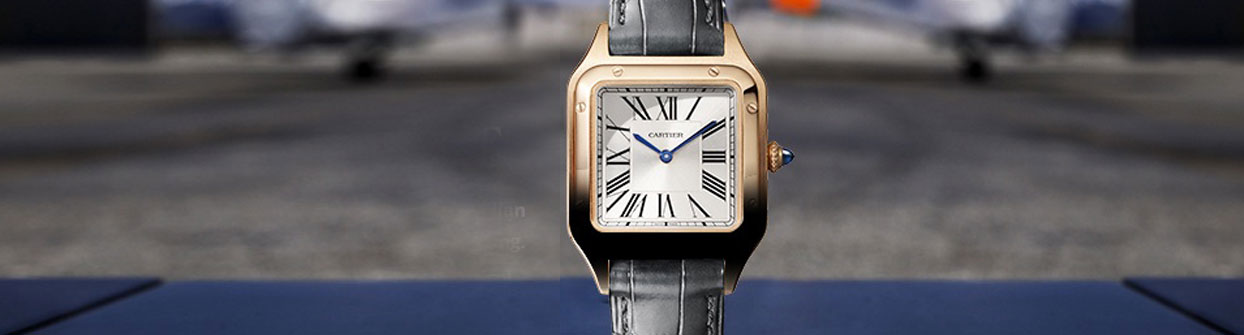 Picture of a Cartier Gold watch